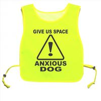 Give Us Space Anxious Dog Yellow tabard Dog Walking Training 02