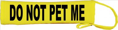 Do Not Pet Me Lead Cover / Slip