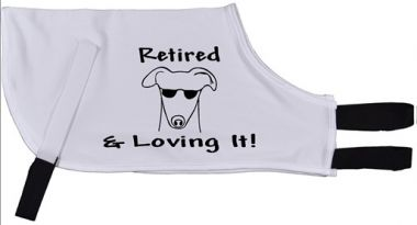 Retired & Loving It! - Greyhound Coat
