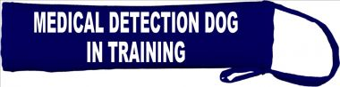 Medical Detection Dog in Training Lead Cover / Slip