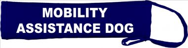 Mobility Assistance Dog Lead Cover / Slip