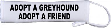 Adopt A Greyhound Adopt A Friend Lead Cover / Slip