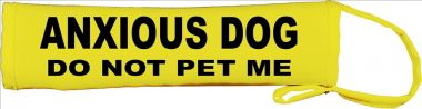 Anxious Dog Do Not Pet Me Lead Cover / Slip