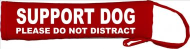 Assistance Support Dog Do Not Distract Lead Slip Cover