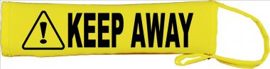 Caution: Keep Away Lead Leash Slip Cover