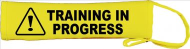 Caution: Training In Progress Lead Cover / Slip