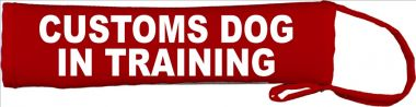 Customs Dog - In Training Lead Cover / Slip