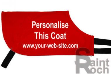 Re Order A Personalised Greyhound Racing Coat