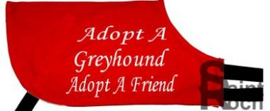 Adopt A Greyhound Adopt A Friend - Greyhound Coat
