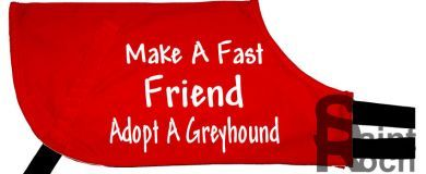 Make A Fast Friend Adopt A Greyhound - Greyhound Coat